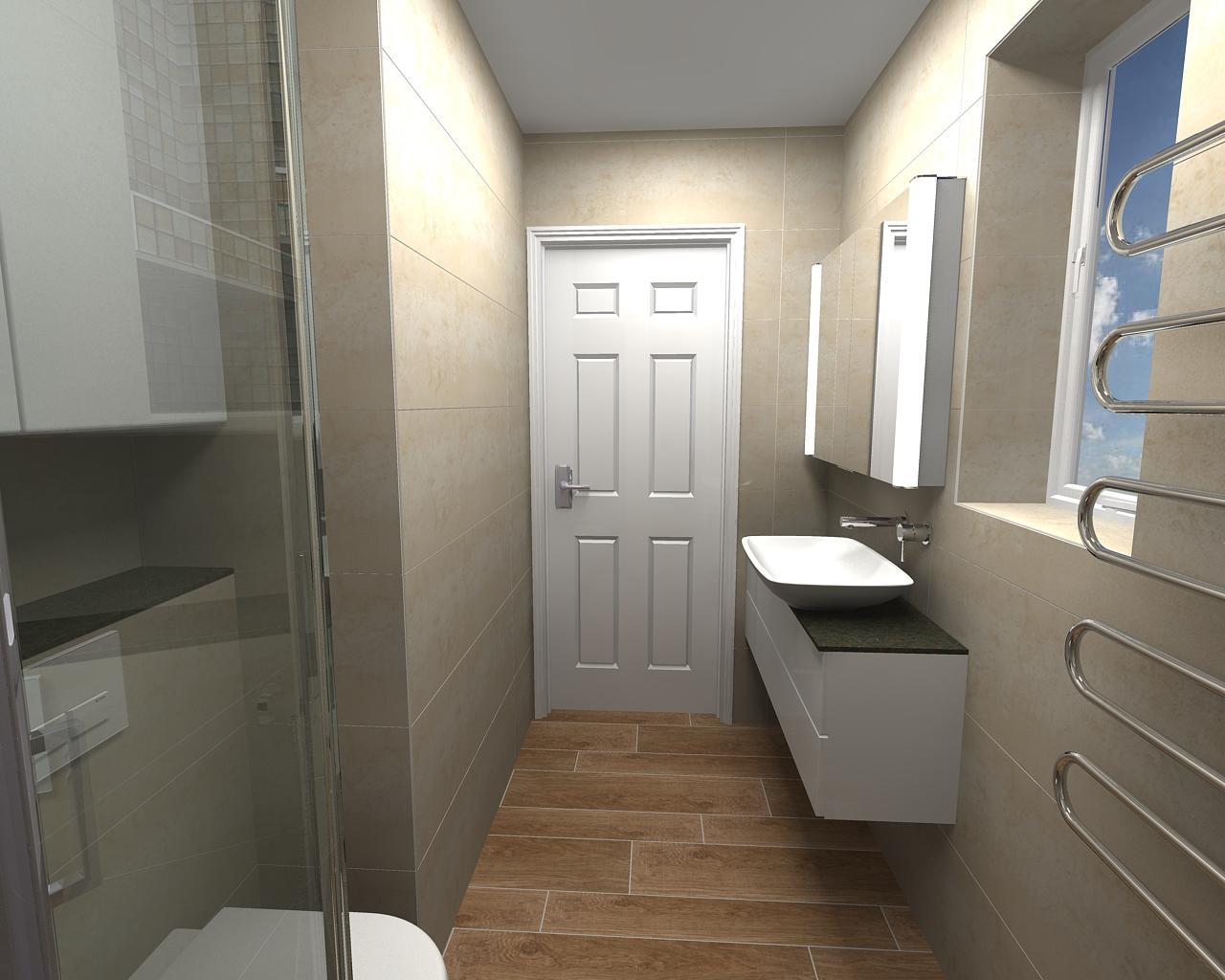 Small En Suite Bathrooms: Ensuite Shower Room