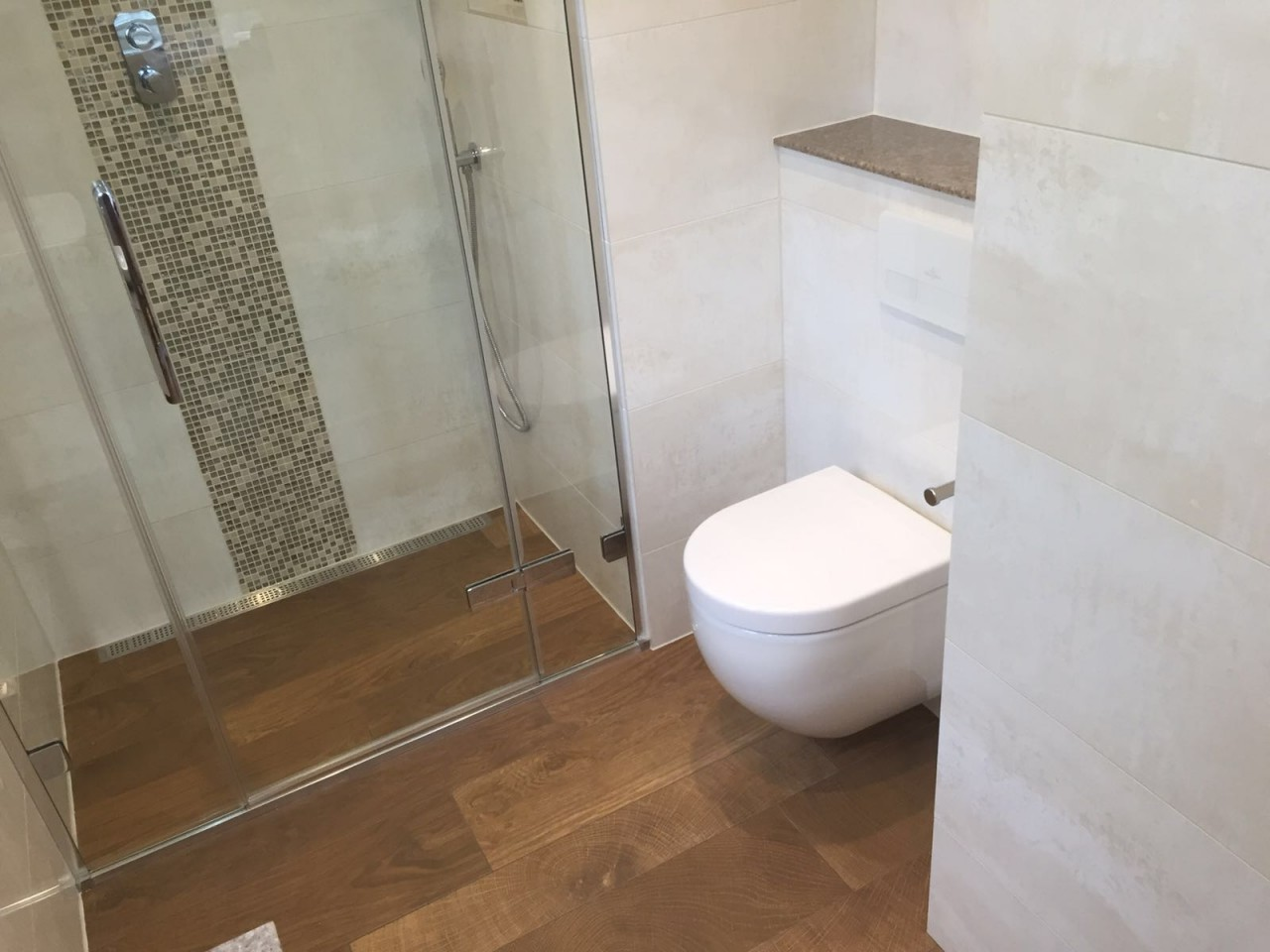 Small ensuite transformation