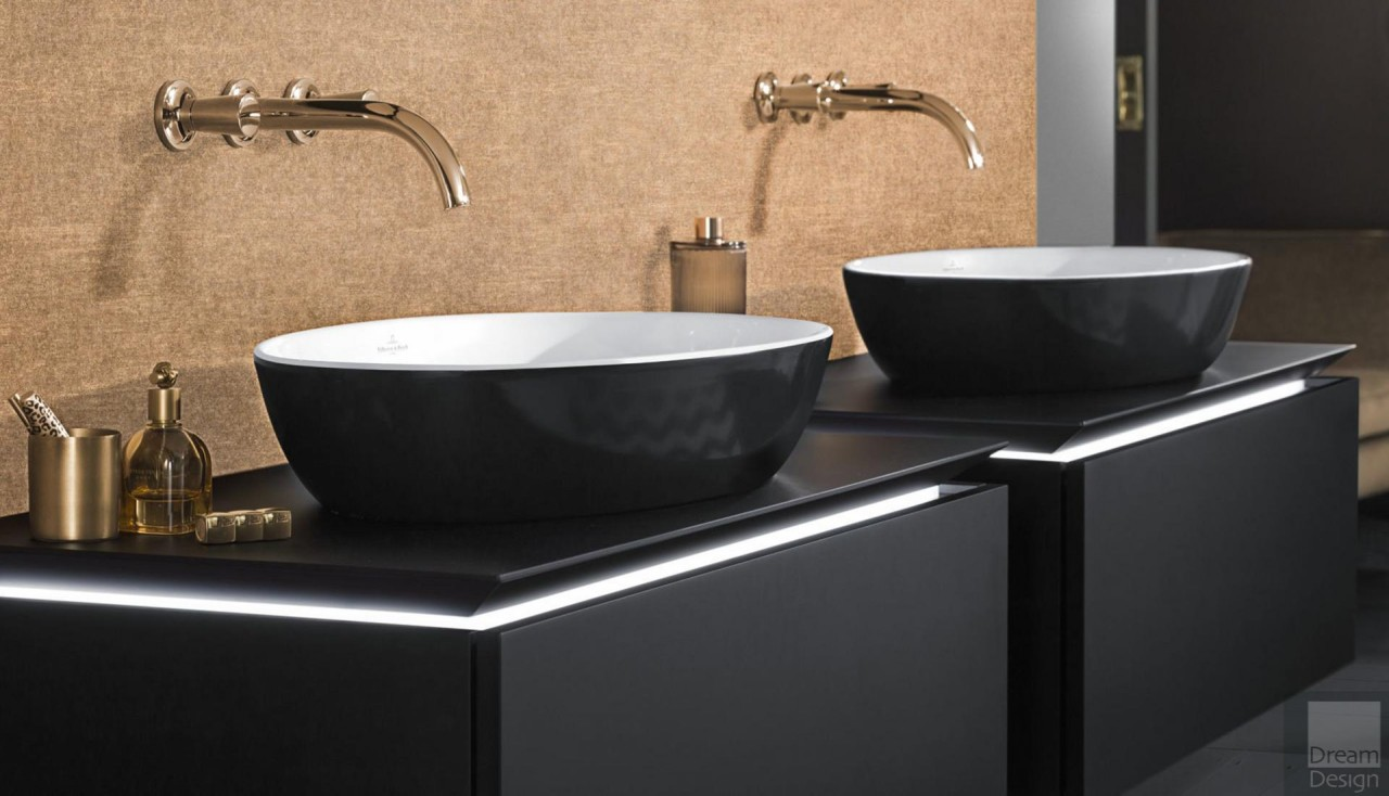 How to easily incorporate black into your bathroom