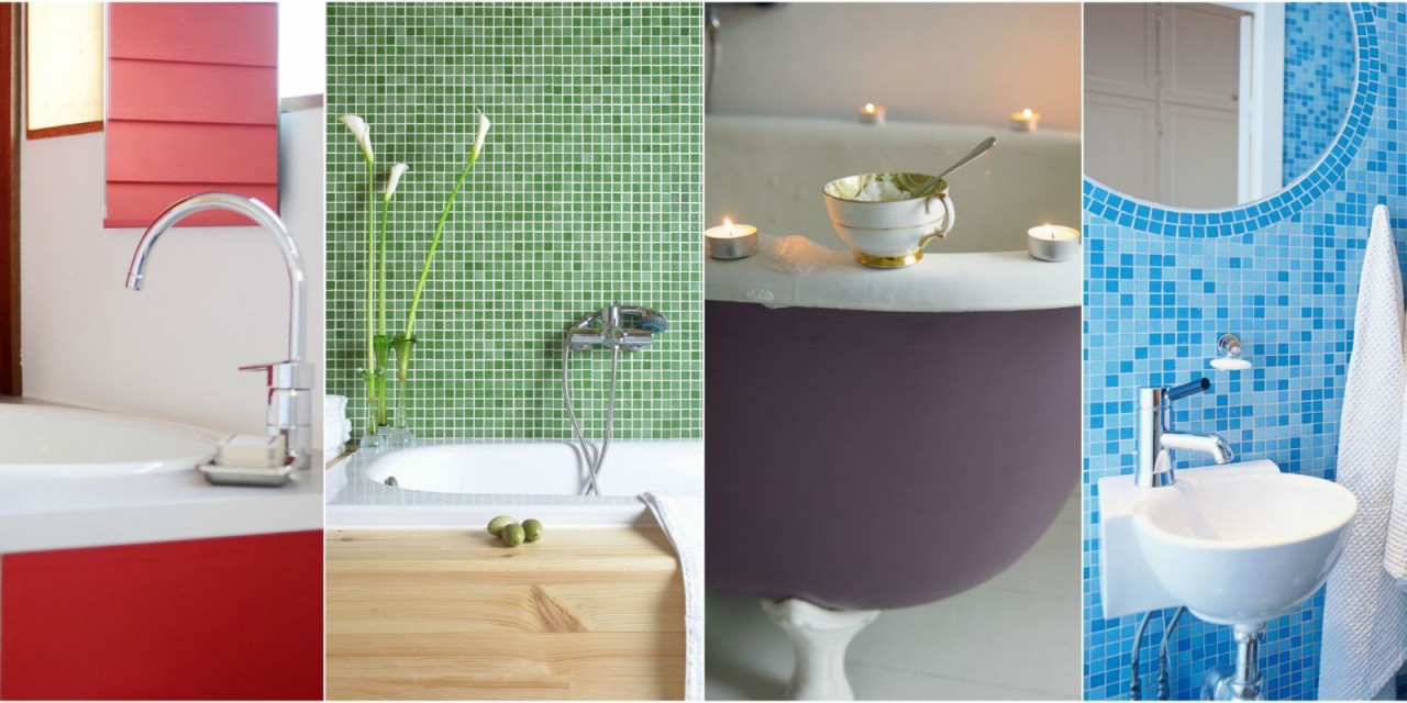 Add A Splash Of Colour To Your Bathroom