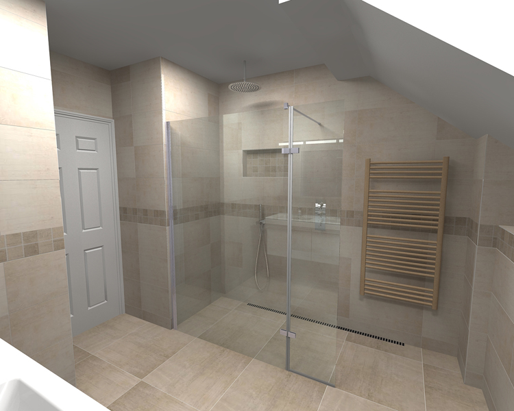 Wetroom CAD Drawing Part 59